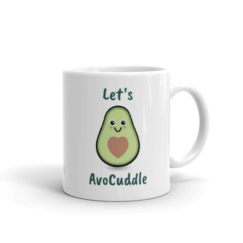 """Let's AvoCuddle"" Coffee Mug"