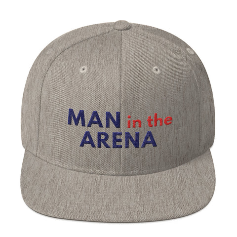 Man in the Arena Motivational Cap