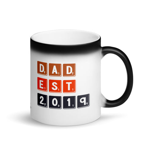 Dad Est. 2019 Magic Mug