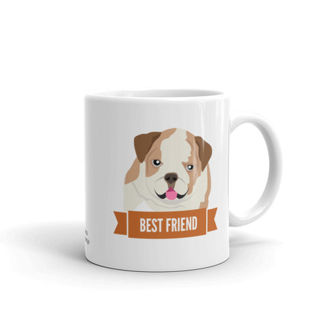 English Bulldog Best Friend Mug