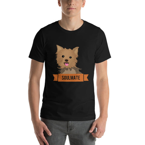 Yorkshire Terrier Soulmate Unisex T-Shirt