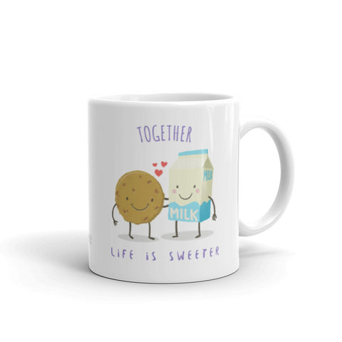 """Milk & Cookie"" Coffee Mug"