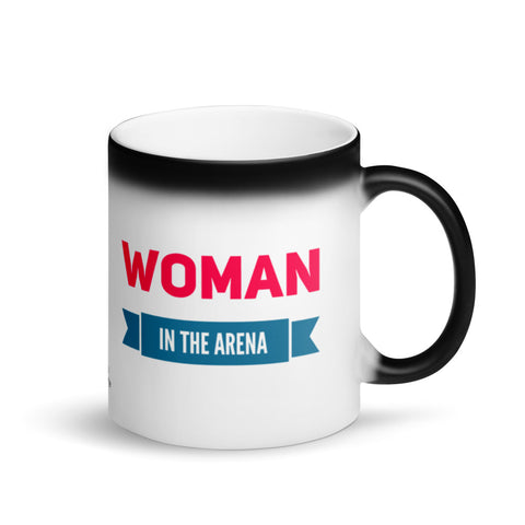 Woman in the Arena Magic Mug