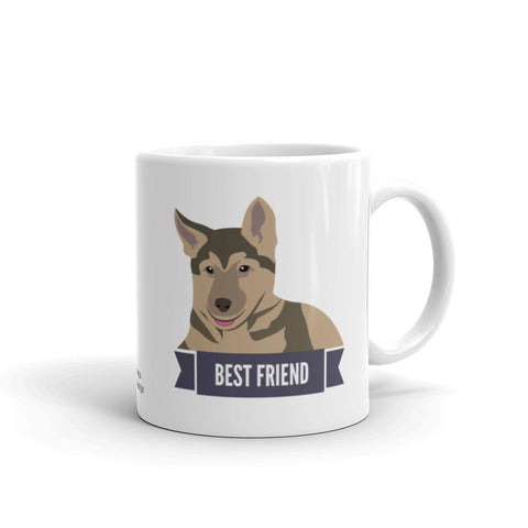 German Shepherd Best Friend Mug