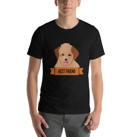 Poodle Best Friend Unisex T-Shirt