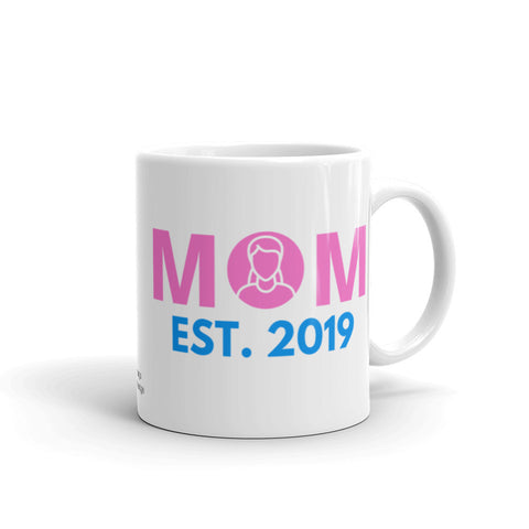 Mom Coffee Mug, EST. 2019