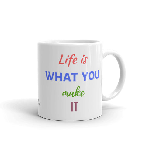 Motivational Coffee Mug, Sizes 11 Fl Oz & 15 Fl Oz