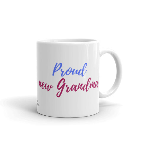 Proud New Grandma Coffee Mug