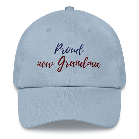 Proud New Grandma Hat