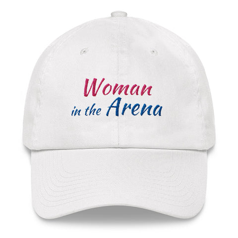 Woman in the Arena Inspirational Cap