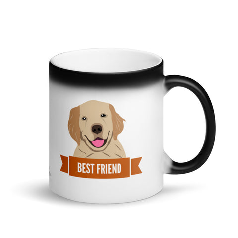 Labrador Best Friend Magic Mug