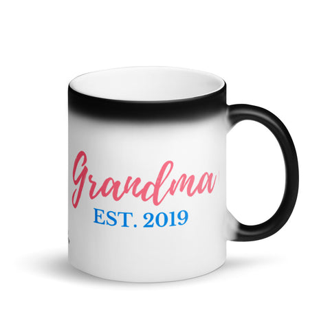 Grandma Magic Coffee Mug, EST. 2019