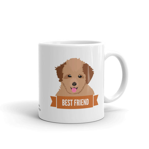 Poodle Best Friend Mug