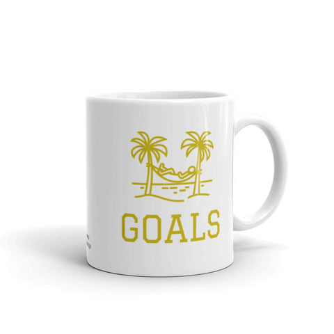 Motivational Coffee Mug, GOALS