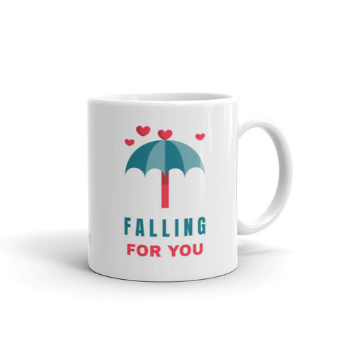 """Falling for You"" Coffee Mug"