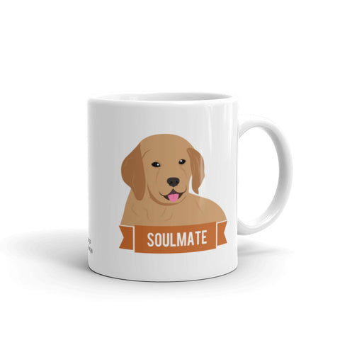 Golden Retriever Soulmate Mug