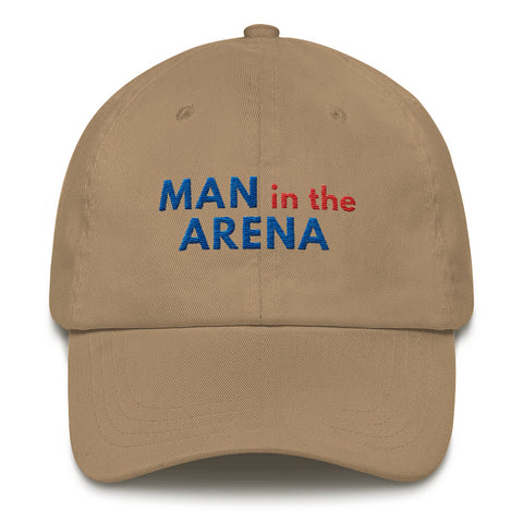 Man in the Arena Inspirational Cap