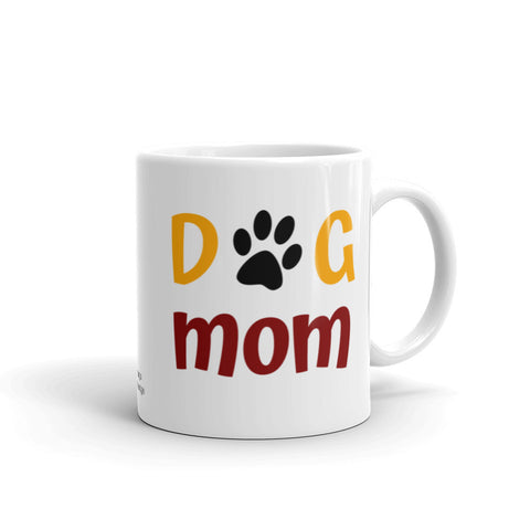 Dog Paw Mom Mug