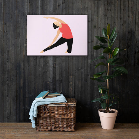 yoga inspired wall art