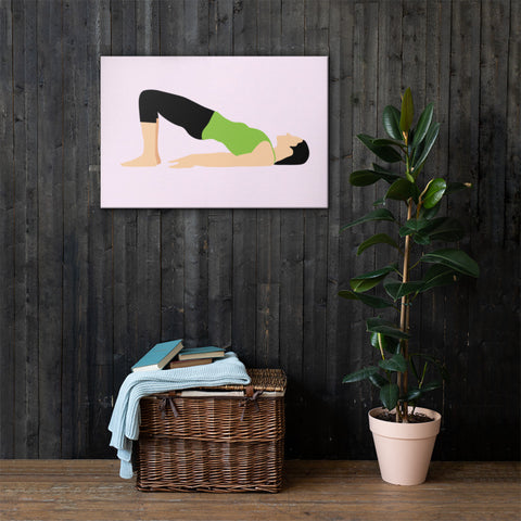 yoga canvas