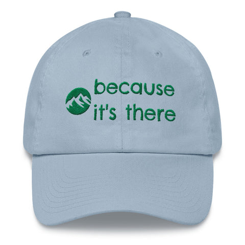 Hats for Hiking - Because It's There