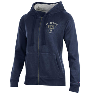 Women's Rochester Full Zip Fleect Hood by Champion