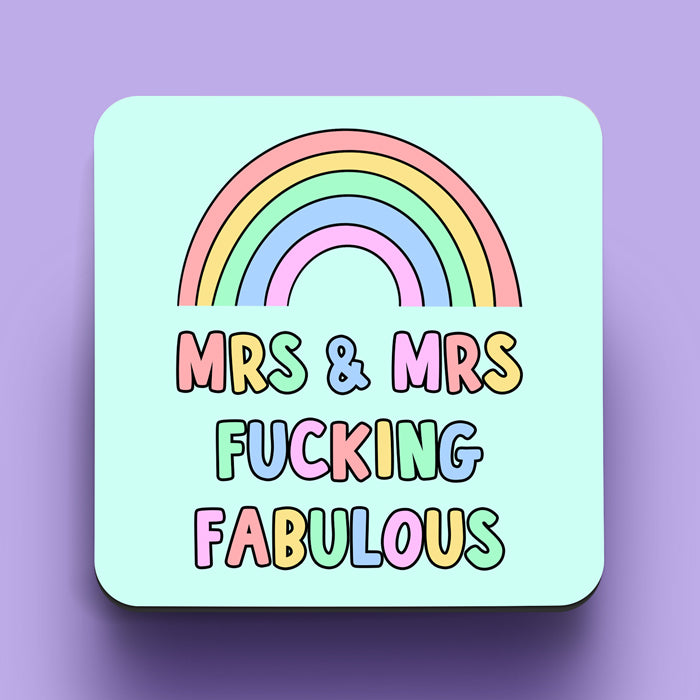 Mrs and Mrs Fabulous Coaster