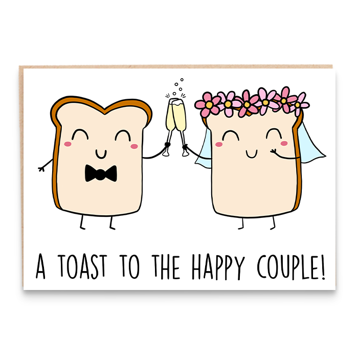 Toast Bride & Groom
