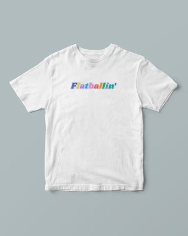 Colors Tee (white)