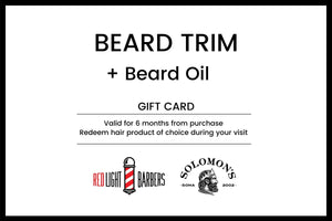Beard Trim + Beard Oil