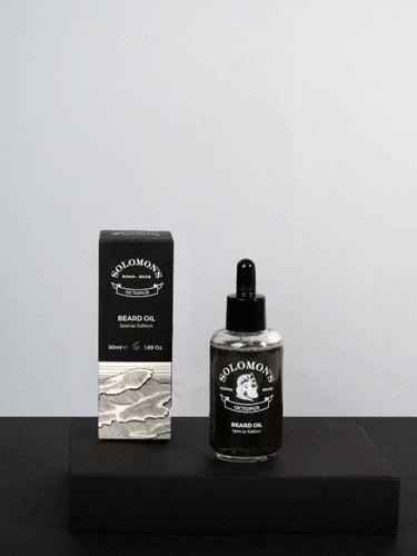 Beard Oil - Special Edition Octopus Black Oil 50ml