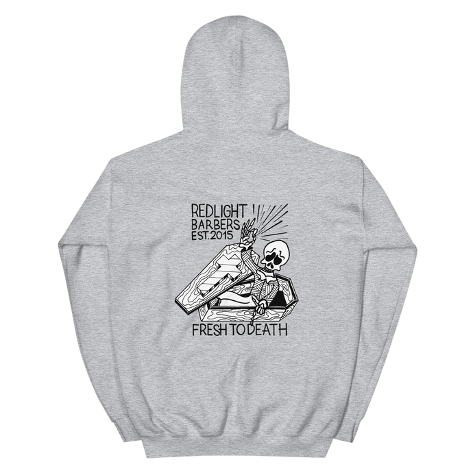 Hoodie - Fresh to Death (Grey)