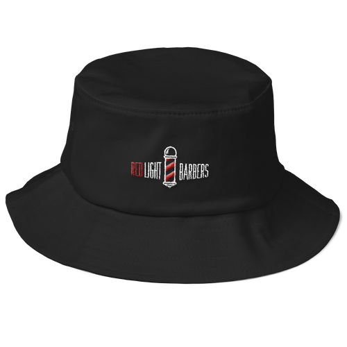 Old School Bucket Hat - RLB Classic (Black)