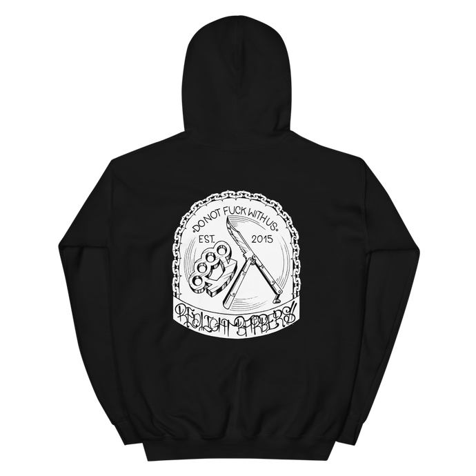 Hoodie - Do Not F*** With Us (Black)