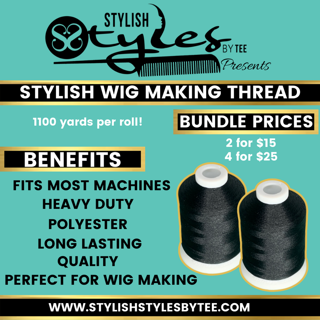 Stylish Wig Making Thread