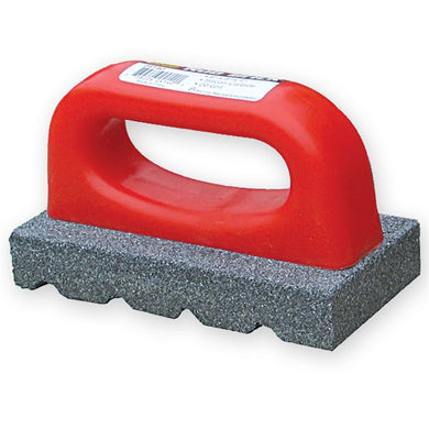 Brick Rub Block for masonry, Red handle