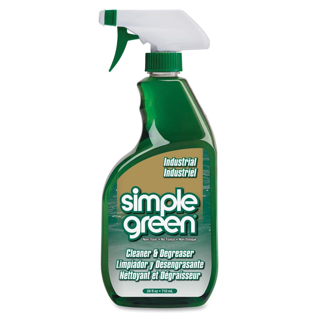 Simple Green Industrial Cleaner and Degreaser, Concentrated 24oz