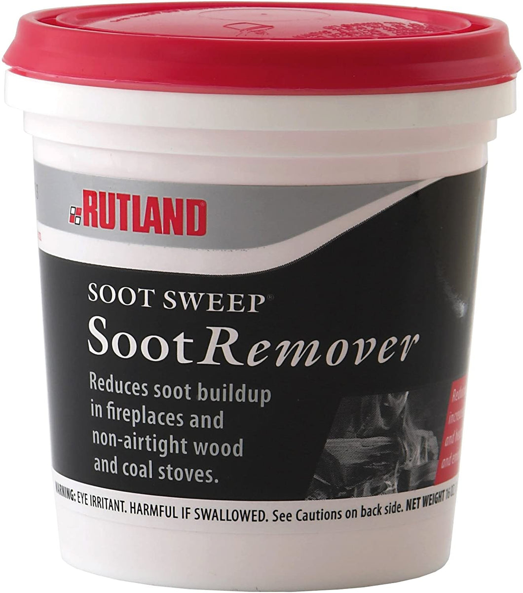 soot remover for wood stoves and fireplaces