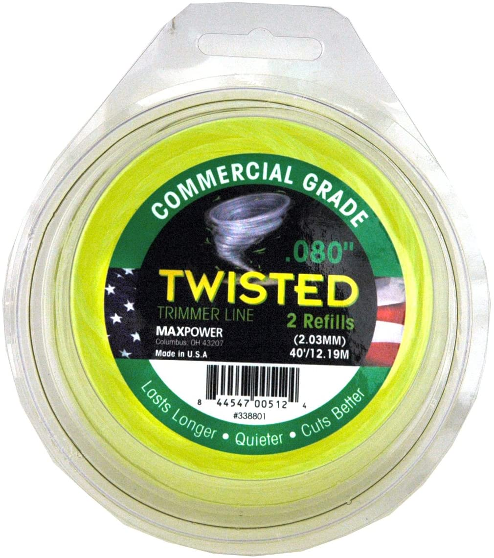 .80 weed eater line, commercial grade twisted