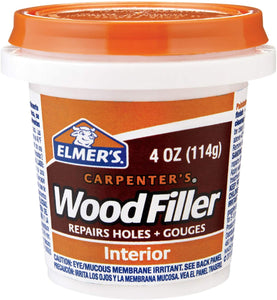 Wood Filler 4oz Solvent-Free
