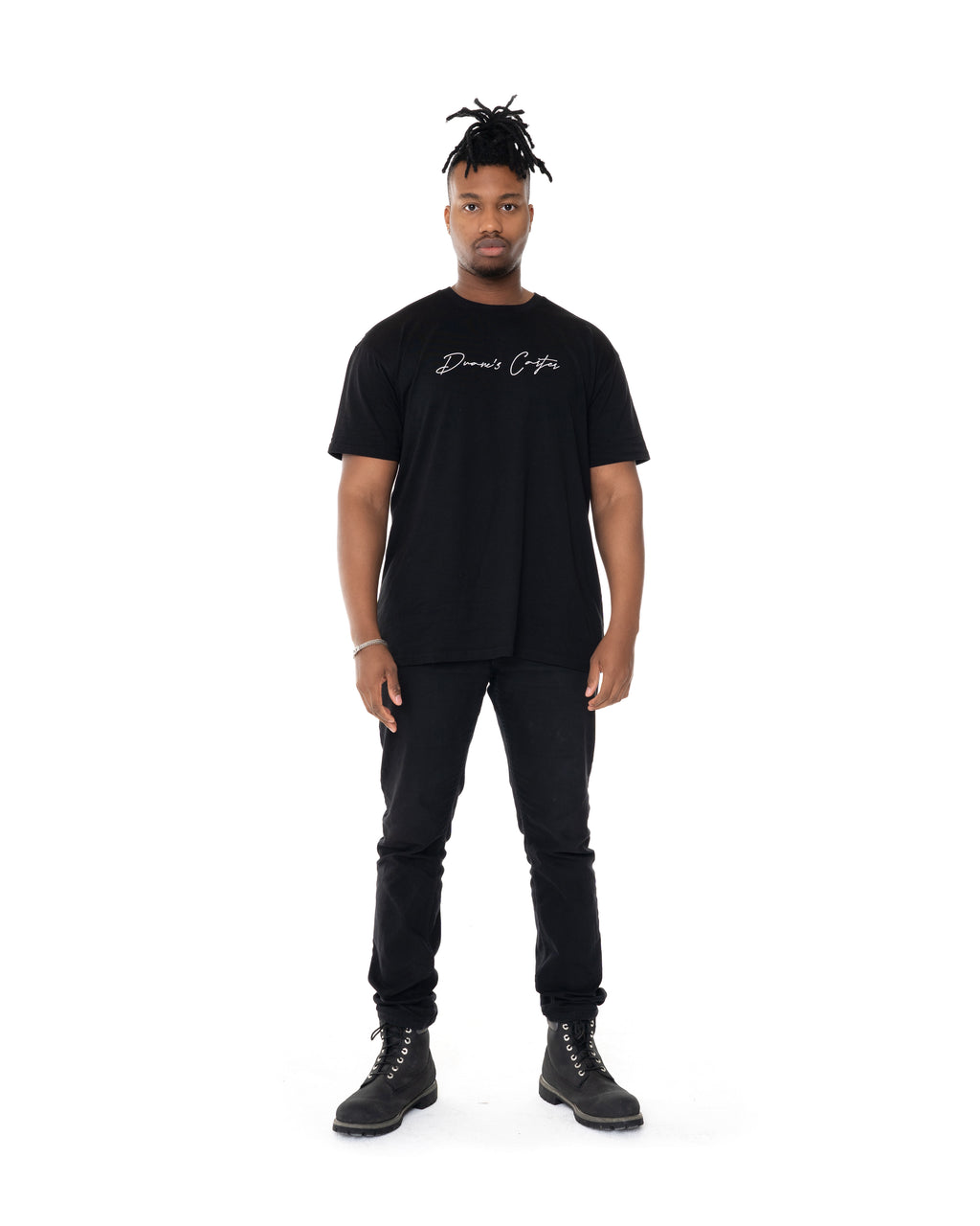 Mens Black signature Tee