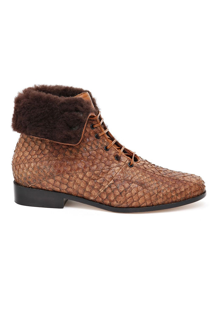 Bota Laura Pecan Brown - Bléque