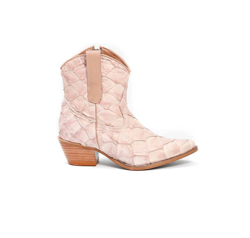 Bota Beatriz Rose Smoke - Bléque