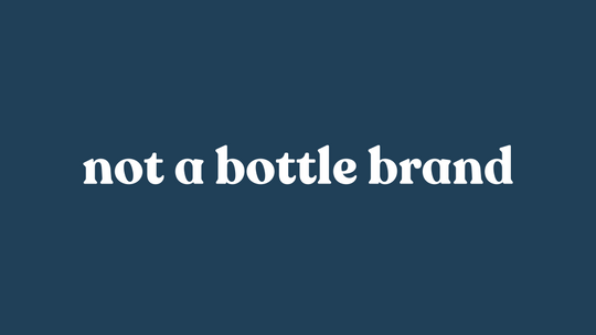 Why it's logic is not a bottle brand