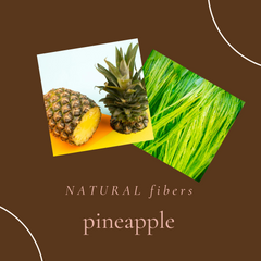 Natural pineapple fiber