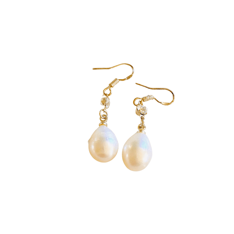 WyohFlowers Jewelry Pearl Drop Earrings