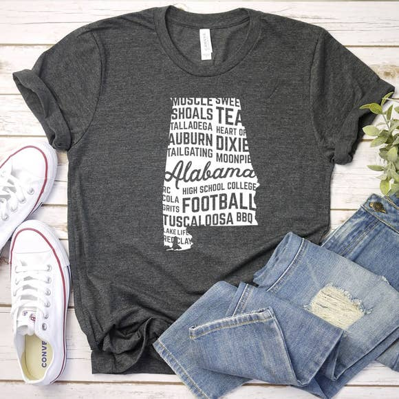 Alabama - State Love - Graphic Tee