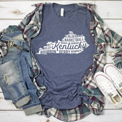 Kentucky - State Love - Graphic Tee