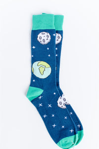 I Need Some Space - Comfy Space Themed Socks