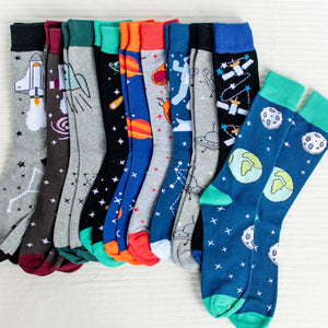 I Need Some Space -Comfy Space Themed Socks